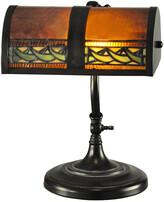 Dale Tiffany Egyptian Mica And Tiffany Desk Lamp