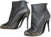 Maison Margiela Anthracite Leather Boots