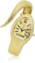 Just Cavalli Poison - Golden Serpent Bracelet Watch