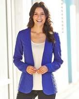 Fashion World Textured Jersey Jacket