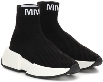 MM6 MAISON MARGIELA High-top sock sneakers
