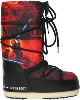 Moon Boot Jedi Fight Printed Nylon Snow Boots
