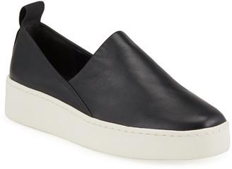 Vince Saxon Napa Leather Slip-On Sneakers