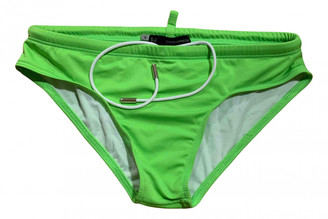 DSQUARED2 Green Polyester Swimwear