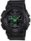 gshock neon highlights anadigi watch 55mm
