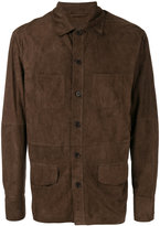 Desa 1972 - shirt jacket - men - Suede - 48