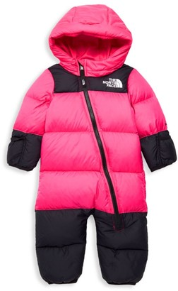 The North Face Baby Girl's Nuptse Goose Down Snowsuit