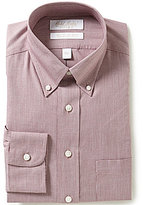Roundtree & Yorke Gold Label Fitted Button-Down Collar Non-Iron Dress Shirt