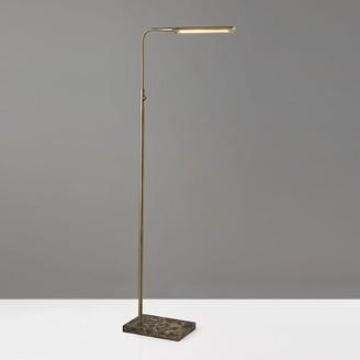 west elm Marble Task LED Floor Lamp