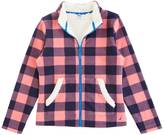 Nautica Little Girls' Sherpa-Lined Plaid Nautex Fleece (2T-7)