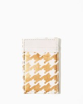 Charming charlie Glam Houndstooth Magic Wallet