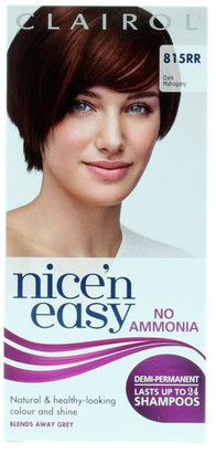 Clairol Nice'N'Easy no Ammonia Non Permanent Hair Colour Dark Mahogany