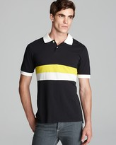 This is Not a Polo Shirt by Band of Outsiders Stripe Slim Polo