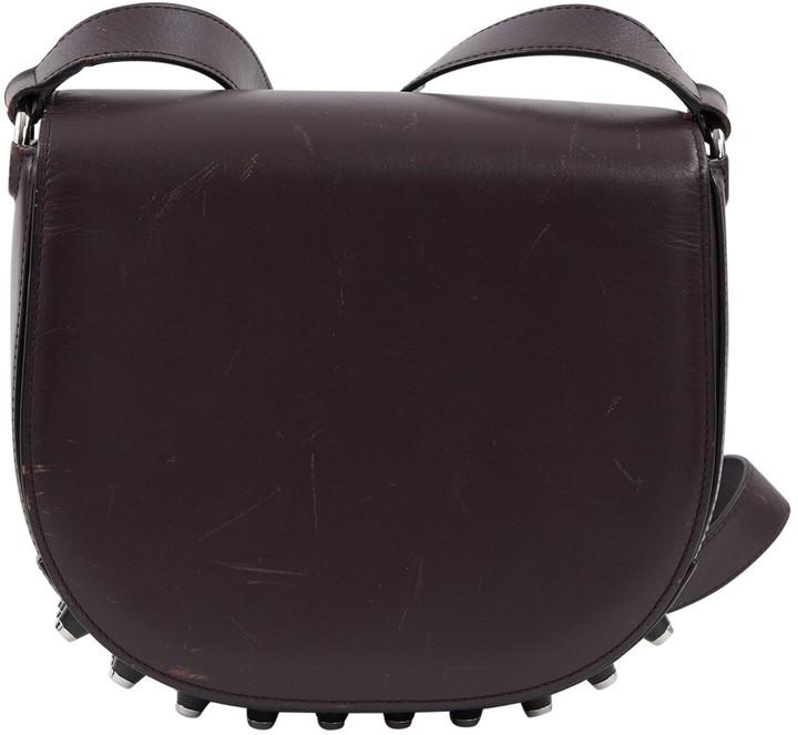 Alexander Wang Lia Burgundy Leather Handbag
