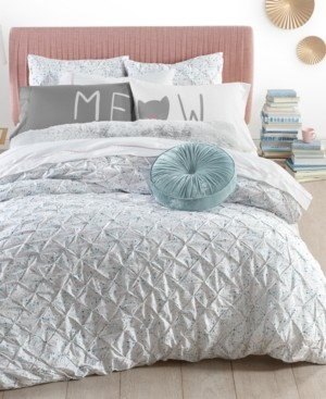 Whim by Martha Stewart Collection Pleated Drop 2-Pc. Twin/Twin Xl Comforter Set, Created for Macy's Bedding
