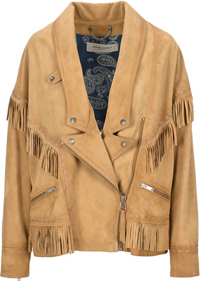 Golden Goose Dallas Fringed Leather Jacket