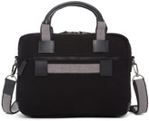 Jack Georges Double Entry Top Zip Briefcase
