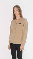 """Comme des Garcons """" Play V-Neck Cardgian"""