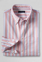 Classic Men's Slim Fit Pattern Sail Rigger Oxford Shirt-White