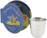 Christofle Galaxie & Confetti Baby Cup and Book