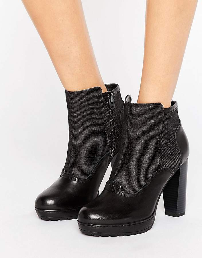 G Star G-Star Guardian Heeled Ankle Boots