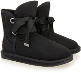Australia Luxe Collective Black Bedouin Short Shearling Boot