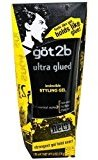 Got2b Ultra Glued Invincible Styling Gel, 6-Ounce by Beauty] by