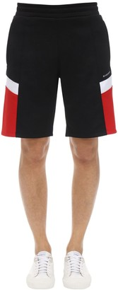 Givenchy Technical Jersey Shorts W/ Logo Details