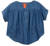 Joe Fresh Pocket Blouse (Big Girls)