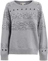 Michael Kors Studded Heavy Sweatshirt