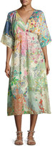 Johnny Was Alyssa Kimono Midi Dress, Multi