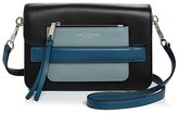Marc Jacobs Madison Medium Tricolor Leather Shoulder Bag