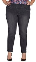 Jag Jeans Women's Plus Size Amelia Pull On Ankle in Comfort Denim