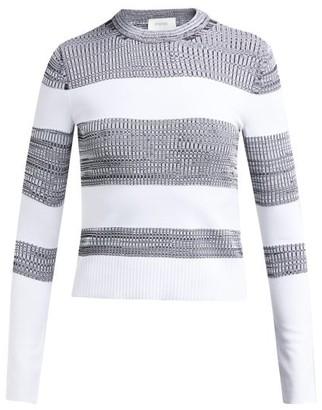 Sportmax Po Sweater - White Black