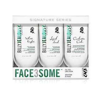 Billy Jealousy Face3Some Mens Face Trio Cleansing Kit With Daily Facial Cleanser