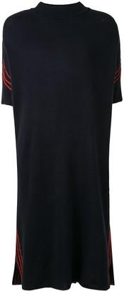Jil Sander Side-Stripe Knitted Dress