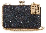 Sophie Hulme Sidney glitter clutch