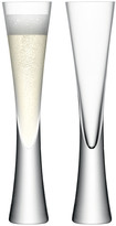 LSA International Moya Champagne Flutes - Set of 2