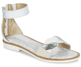 Citrouille et Compagnie MINIMAZA girls's Sandals in White