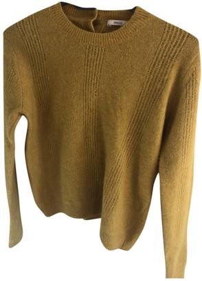 Sessun Yellow Wool Knitwear for Women