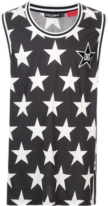 Dolce & Gabbana Star Print Vest Top