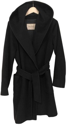 Max Mara Navy Wool Coat for Women