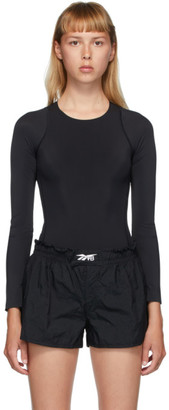 Reebok x Victoria Beckham Black VB Long Sleeve Bodysuit
