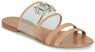 KG by Kurt Geiger PIA VINYL SANDAL women's Mules / Casual Shoes in Brown