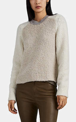 Rag & Bone Women's Davis Bouclé Wool-Blend Sweater - White