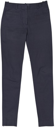 Christian Dior Navy Cotton Trousers