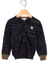 Paul Smith Boys' V-Neck Mélange Cardigan