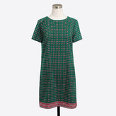 J.Crew Factory Printed short-sleeve gallery dress