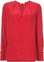 Diane von Furstenberg tied blouse