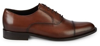 To Boot Jarvis Leather Cap Toe Oxfords
